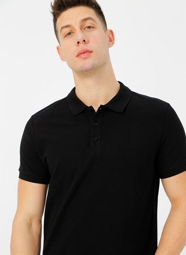 Limon Company Polo Tişört Siyah